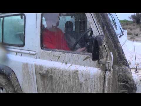 Land Rovers mud Nicosia 14.02.2015