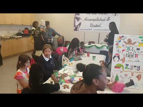 Toy-gifting Social for lone Caribbean-Canadian moms