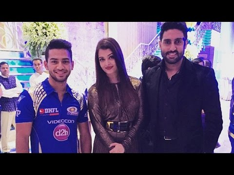 Aishwarya & Abhishek Attend Ambani's Bash For Mumbai Indians | IPL 2015