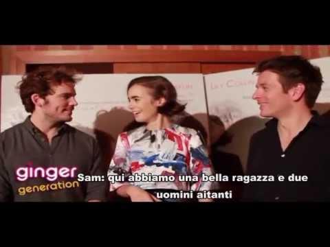 Intervista al cast di ScrivimiAncora  Sam Claflin, Lily Collins e Christian Ditter