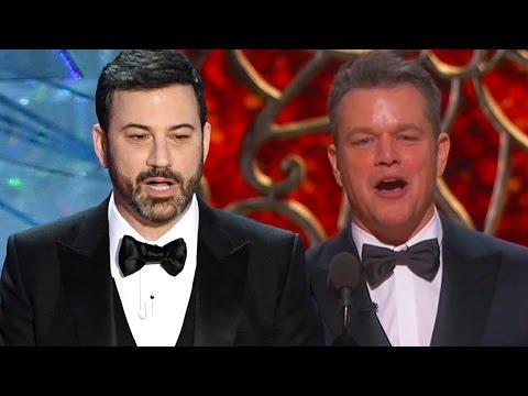 8 BEST & Worst Jimmy Kimmel Moments At 2017 Oscars