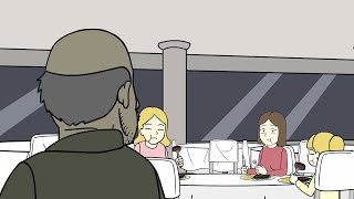 True Horror Story About A Creepy Guy At The Restaurant