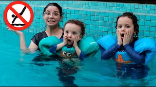 REGRAS DE CONDUTA PARA CRIANÇAS NA PISCINA   Cadu Pontes Learn Rules of Conduct for Children in Pool