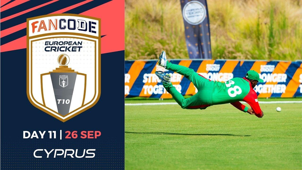 Download 🔴 FanCode European Cricket T10 Cyprus,  Limassol   Day 11 T10 Live Cricket