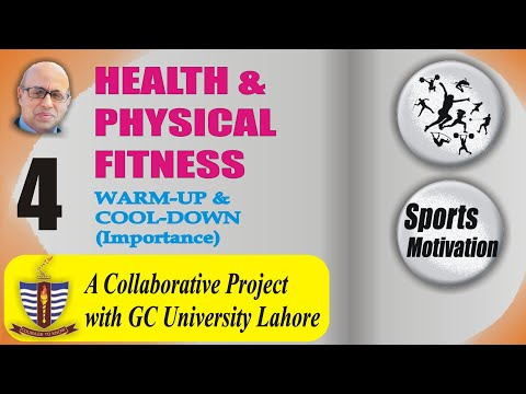 GCU │4-13 │WARM-UP & COOL-DOWN (Importance)