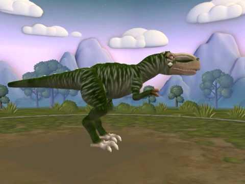 Spore dinosaur Albertosaurus