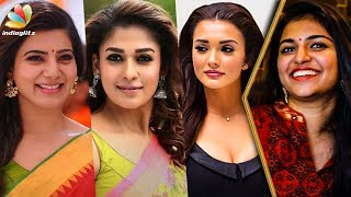 The Real Voice Behind Nayanthara,Emy Jackson and Samantha | Dubbing Artist Raveena Interview