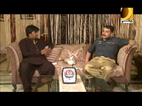 Interview Pir Mohammad Shah S S P East Karachi