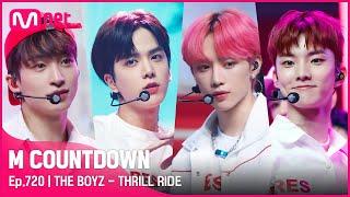 [THE BOYZ - THRILL RIDE] Comeback Stage | #엠카운트다운 EP.720 | Mnet 210812 방송