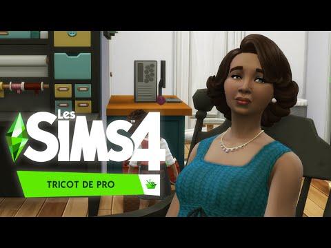 ZÊTES PAS CHAUDS POUR LE TRICOT ? - Les Sims 4: Tricot de pro découverte