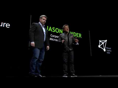 GTC 2017: Introducing NVIDIA DGX-1 and DGX Station (NVIDIA keynote part 9)
