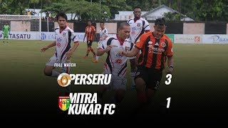 [Full Match] Perseru vs Mitra Kukar FC, 4 November 2018
