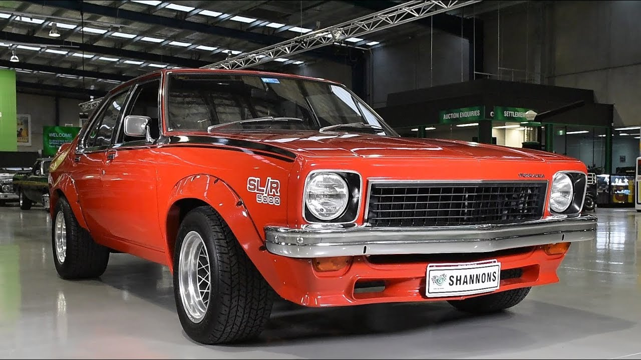 1974 Holden LH Torana SL/R5000 L34 Sedan - 2017 Shannons Melbourne Spring Classic Auction