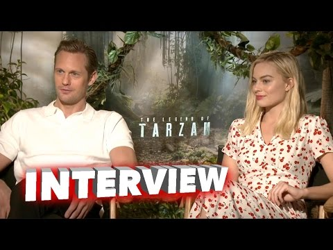 The Legend of Tarzan: Alexander Skarsgard & Margot Robbie Exclusive Interview