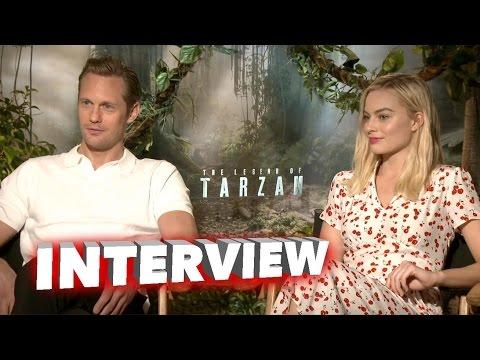 The Legend of Tarzan: Alexander Skarsgard & Margot Robbie Exclusive Interview