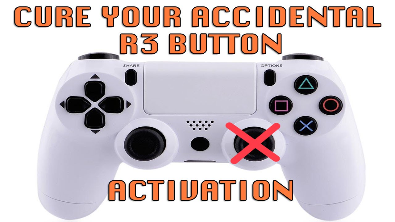Where is R3 on PlayStation 4? - Quora