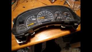How To Disassemble A Chevrolet Gauge Cluster & Stepper Motor Removal