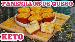 PANESILLOS DE QUESO Bajo En Carbs QUEMA GRASA/ KETO BISCUITS / Low Carb