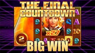 THE COUNTDOWN FREE SPINS - BIG WIN ON THE FINAL COUNTDOWN - BIG TIME GAMING