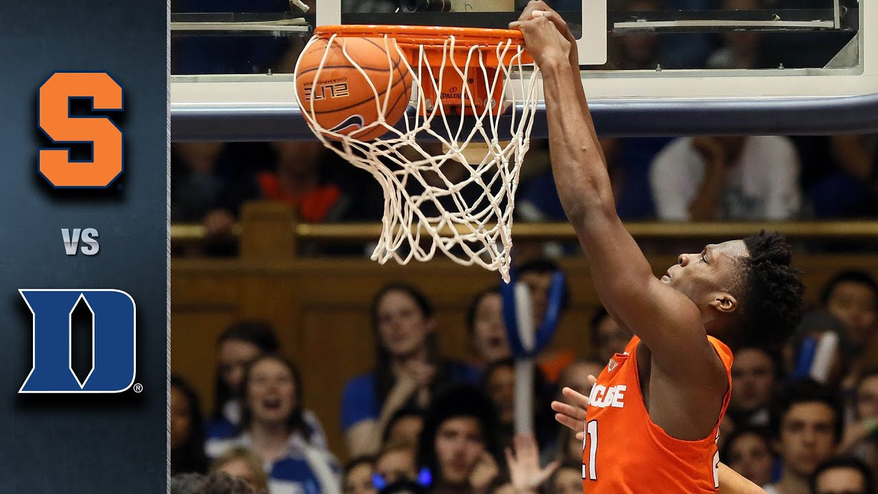 Syracuse vs. Duke Basketball Highlights (2015-16) - YouTube