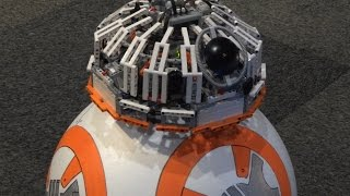 Working Star Wars BB8, made with LEGO MINDSTORMS EV3