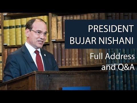 President Bujar Nishani | Full Address and Q&A | Oxford Union