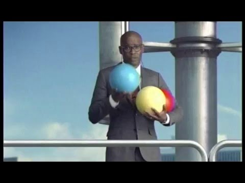 US Cellular Colorful Balls Commercial