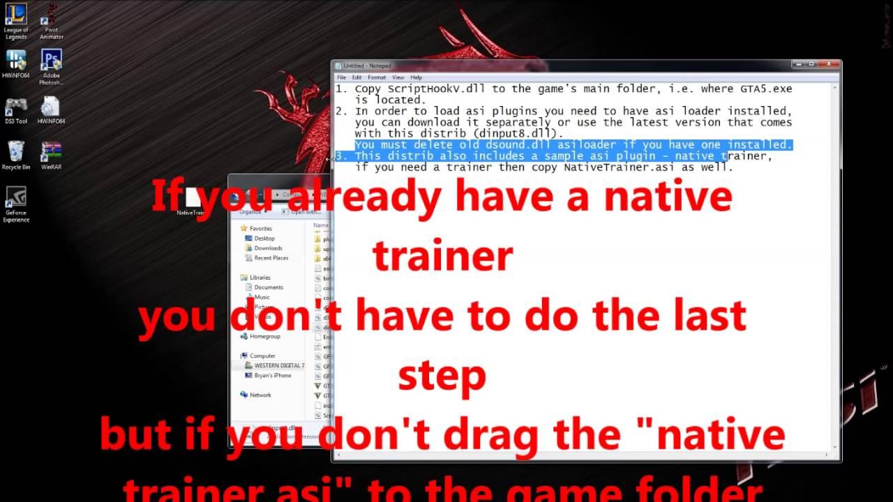 GTA V Script Hook V Critical Error Fix