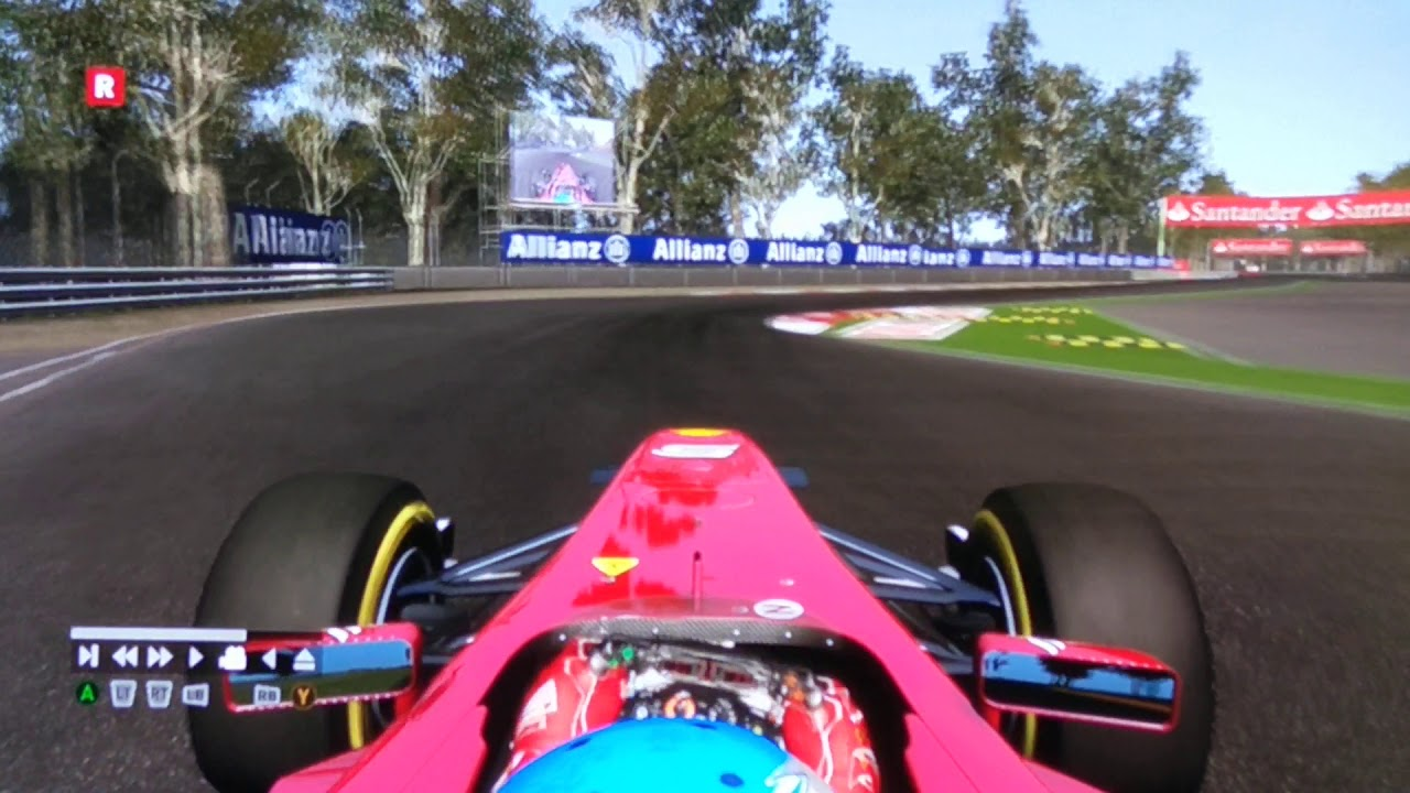F1 2011 Game Hot lap Monza - YouTube