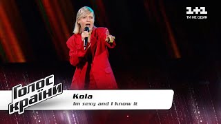 "KOLA - ""Sexy and I Know It"" - The Voice Show Season 11 - Blind Audition"