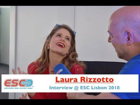 Laura Rizzotto (Latvia) interview @ Eurovision 2018 Lisbon | ESC Radio