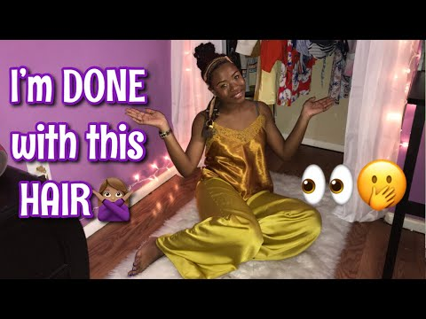 I'M BORED WITH MY LONG RELAXED HAIR!| Pre-relaxer update 2019