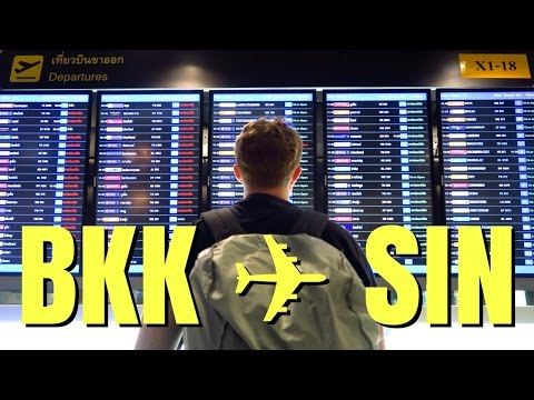 Bangkok to Singapore travel vlog