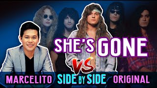 Download Mp3 Marcelito Pomoy VS Steelheart She s Gone SIDE BY SIDE COMPARISON He Nailed it