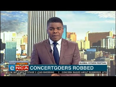 Global Citizen Festival: Concertgoers robbed