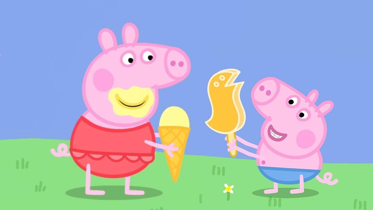 Peppa Pig En Español Día Muy Caluroso Pepa La Cerdita