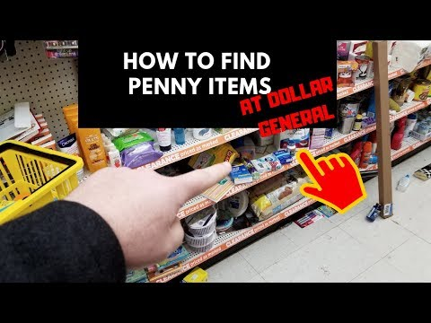Penny List For Dollar General HOW I FIND PENNY ITEMS - YouTube