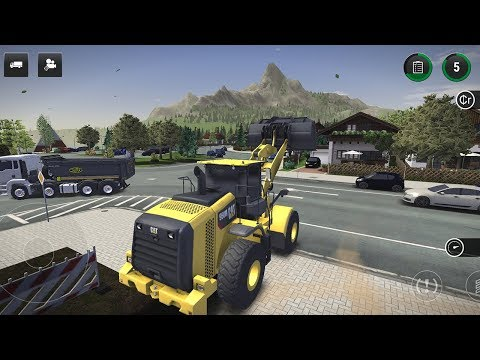 Construction Simulator 3 — LANDSCAPING: BUILDING A TERRACE