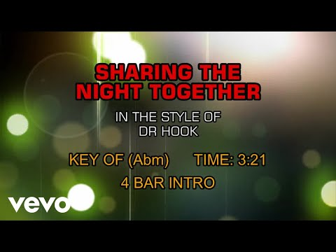 Dr. Hook - Sharing The Night Together (Karaoke)