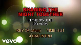 Dr. Hook - Sharing The Night Together (Karaoke)