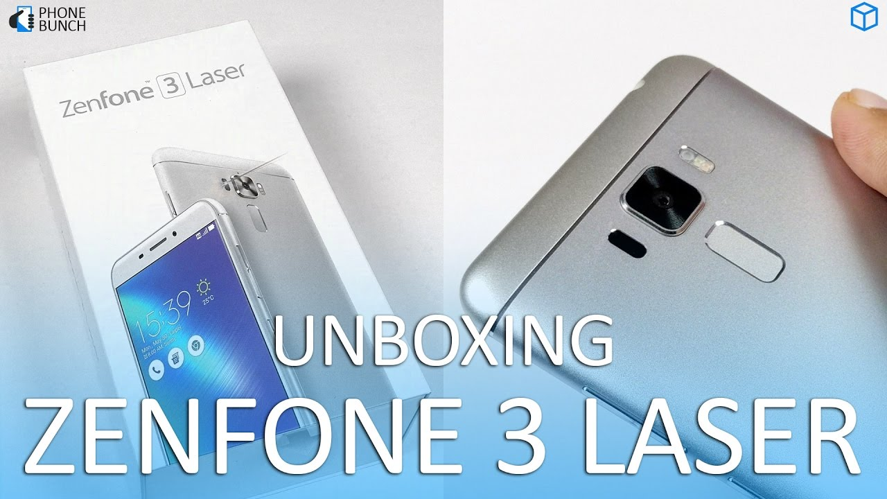 Asus Zenfone 3 Laser Unboxing With Camera Samples Software Features 32gb Youtube