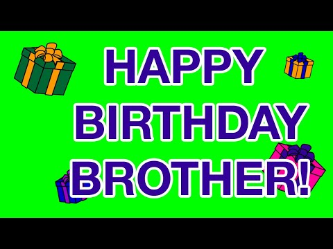 HAPPY BIRTHDAY BROTHER Birthday Cards