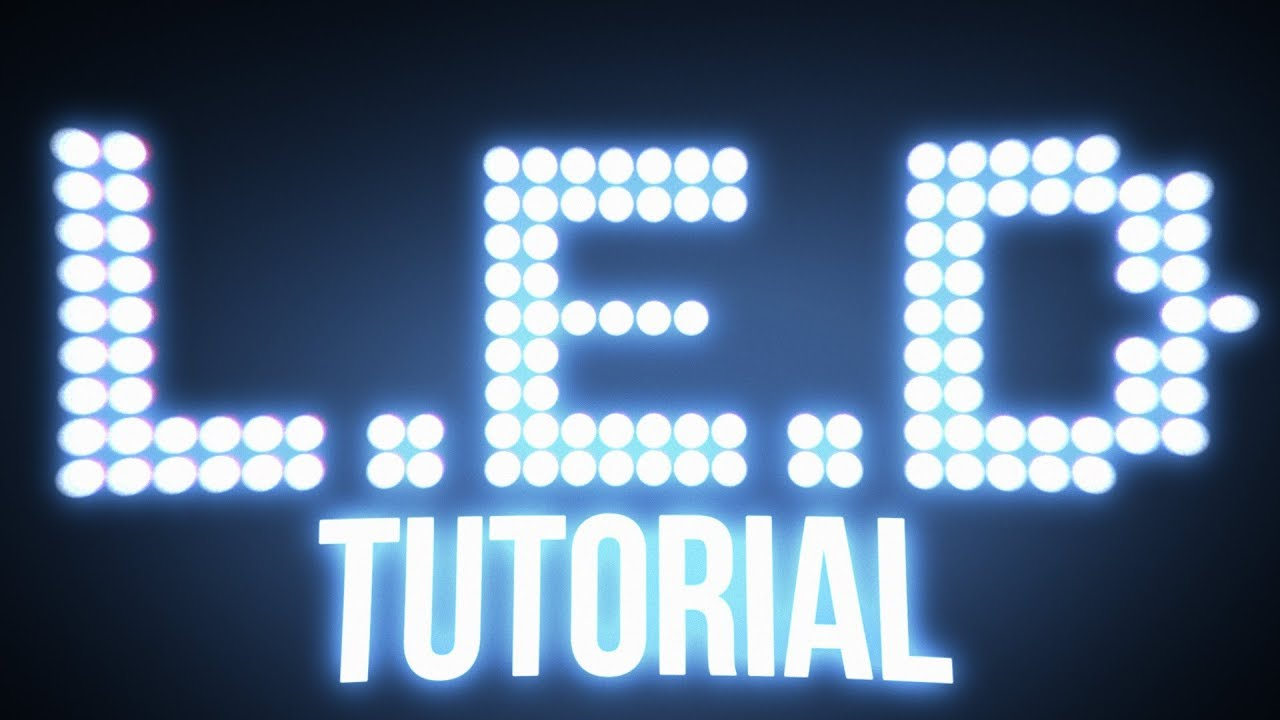 LED Light Panel Tutorial | After Effects