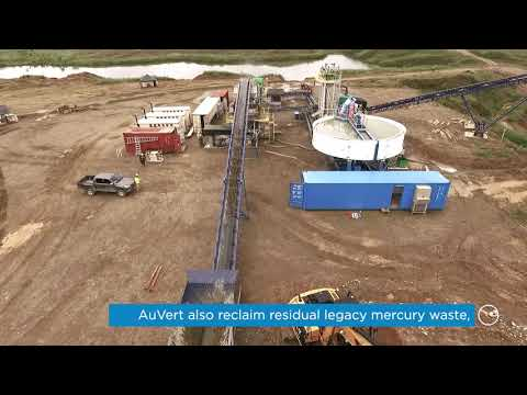 Eco-Friendly Alluvial Mining Plant in Colombia - CDE and AuVert Mining