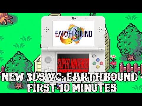 earthbound 3ds vc first 10 minutes youtube