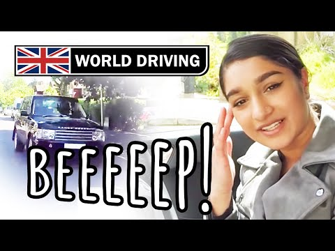 Driving Test In UNKNOWN Area And New Car