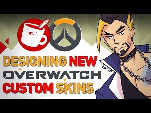 Artists Design Custom Overwatch Skins