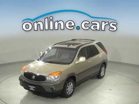 A16708PT Used 2003 Buick Rendez-Vous Gold SUV Test Drive, Review, For Sale