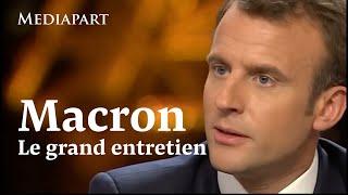 Macron, un an après : le grand entretien en intégralité
