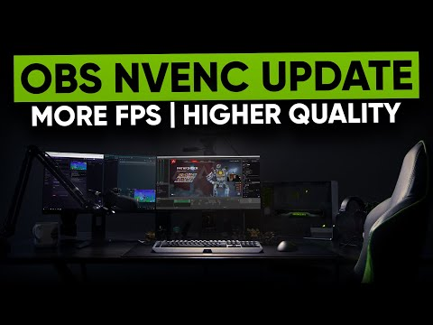 OBS v23 - New NVENC Encoding Explained, Twitch Integration & MORE!